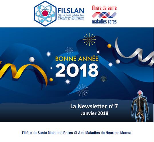 Newsletter N°7 - Janvier 2018