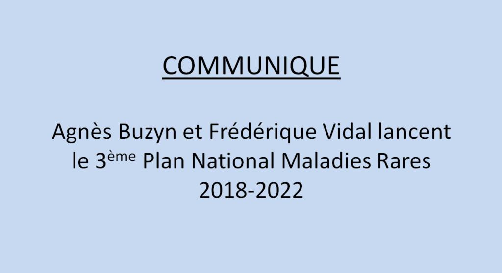 Lancement du PNMR3 2018-2022