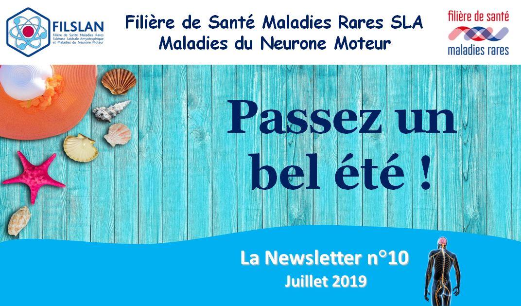 Newsletter N°10 - Juillet 2019